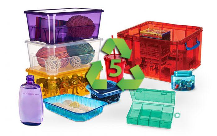 Những đồ vật làm bằng nhựa Polypropylene (PP)
