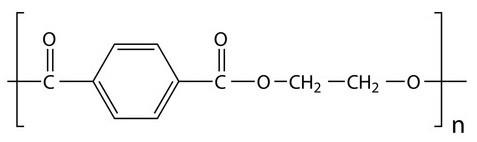 Cấu trúc phân tử của Polyethylene Terephthalate