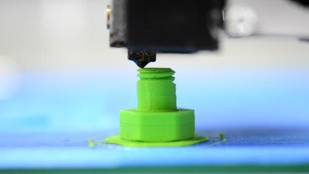 In 3D bằng vật liệu nhựa ABS