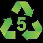 Mã nhận dạng nhựa số 5 - Polypropylene