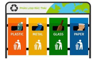 Phân loại rác thải để tái chế